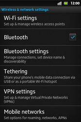 Sony ST27i Xperia Go - MMS - Manual configuration - Step 5