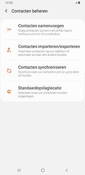 Samsung galaxy-note-9-sm-n960f-android-pie - Contacten en data - Contacten kopiëren van SIM naar toestel - Stap 6