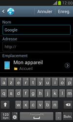 Samsung Galaxy S III Mini - Internet et roaming de données - Navigation sur Internet - Étape 8