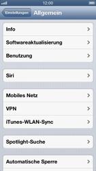 Apple iPhone 5 - MMS - manuelle Konfiguration - Schritt 4