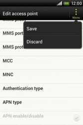 HTC A320e Desire C - MMS - Manual configuration - Step 13