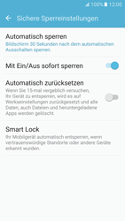 Samsung Galaxy S7 - Datenschutz und Sicherheit - Automatischen Screensaver einschalten - 1 / 1