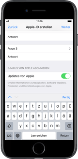 Apple iPhone 6 Plus - Apps - Konto anlegen und einrichten - 13 / 26