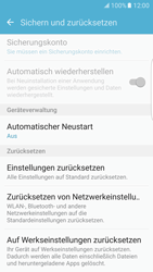Samsung Galaxy S7 Edge - Gerät - Zurücksetzen auf die Werkseinstellungen - Schritt 6