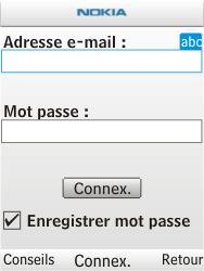 Nokia X2-00 - E-mail - Configuration manuelle - Étape 7