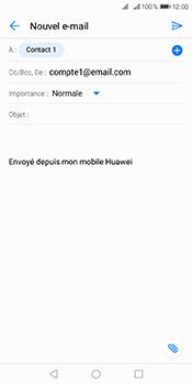 Huawei Y6 (2018) - E-mails - Envoyer un e-mail - Étape 7