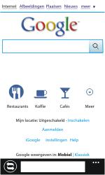 Nokia Lumia 800 - Internet - Hoe te internetten - Stap 4