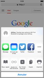 Apple iPhone 6 iOS 8 - Internet et connexion - Naviguer sur internet - Étape 6