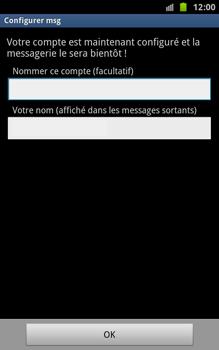 Samsung N7000 Galaxy Note - E-mail - Configuration manuelle - Étape 11