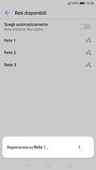 Huawei P10 Plus - Rete - Selezione manuale della rete - Fase 10