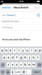 Apple iphone-5s-met-ios-12-model-a1457 - E-mail - Hoe te versturen - Stap 6