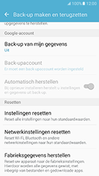 Samsung Galaxy J5 (2016) - toestel resetten - fabrieksinstellingen terugzetten - stap 6