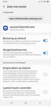 Samsung galaxy-a7-dual-sim-sm-a750fn-android-pie - Beveiliging en ouderlijk toezicht - Zoek mijn mobiel inschakelen - Stap 8