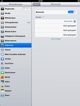 Apple iPad 4 - Bluetooth - Geräte koppeln - Schritt 11