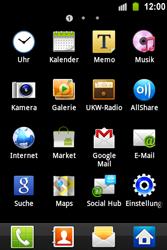 Samsung S5830 Galaxy Ace - E-Mail - Konto einrichten - Schritt 3