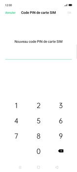 Oppo Find X2 Lite - Sécuriser votre mobile - Personnaliser le code PIN de votre carte SIM - Étape 9