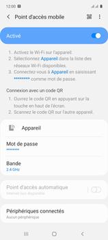 Samsung Galaxy A71 - Internet et connexion - Partager votre connexion en Wi-Fi - Étape 12