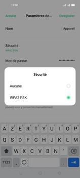 Oppo Reno 4 Pro - Internet et connexion - Partager votre connexion en Wi-Fi - Étape 8