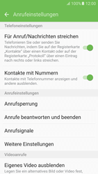 Samsung Galaxy S6 - Anrufe - Rufumleitungen setzen und löschen - 2 / 2