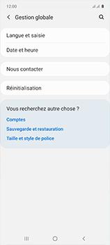 Samsung Galaxy A51 - Prise en main - Comment ajouter une langue de clavier - Étape 5