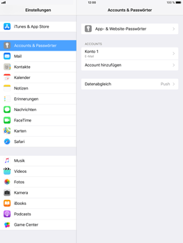 Apple iPad Air 2 - E-Mail - Konto einrichten - 2 / 2