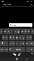 Microsoft Lumia 535 - MMS - Sending pictures - Step 7