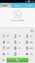 Huawei Y625 - Messagerie vocale - configuration manuelle - Étape 4