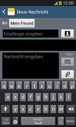 Samsung Galaxy Core Plus - MMS - Erstellen und senden - 1 / 1