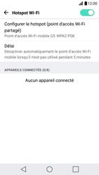 LG G5 - Internet et connexion - Partager votre connexion en Wi-Fi - Étape 10