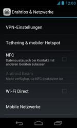 BASE Lutea 3 - Internet - Manuelle Konfiguration - Schritt 5