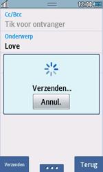 Samsung S7230E Wave TouchWiz - e-mail - hoe te versturen - stap 12