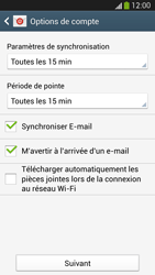 Samsung I9505 Galaxy S IV LTE - E-mail - Configuration manuelle (outlook) - Étape 8