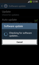 Samsung Galaxy Ace III - Software - Installing software updates - Step 9