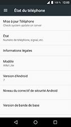 Wiko WIM Lite - Aller plus loin - Mettre à jour le logiciel interne de votre mobile - Étape 6