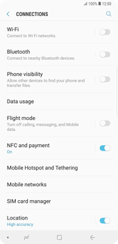 Samsung Galaxy Note9 - Internet and data roaming - How to check if data-connectivity is enabled - Step 5