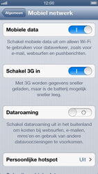 Apple iPhone 5 - Internet - Mobiele data uitschakelen - Stap 5