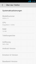 Huawei Ascend G526 - Software - Installieren von Software-Updates - Schritt 5