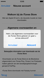 Apple iPhone 5s (iOS 8) - apps - account instellen - stap 12