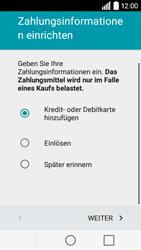 LG Leon 3G - Apps - Konto anlegen und einrichten - 17 / 20