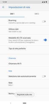 Nokia 7.2 - Rete - Selezione manuale della rete - Fase 13
