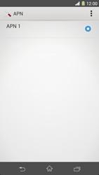 Sony Xperia Z1 - MMS - Configurazione manuale - Fase 7