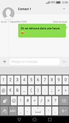 Huawei Nova - Contact, Appels, SMS/MMS - Envoyer un SMS - Étape 10