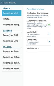 Samsung T335 Galaxy Tab 4 8-0 - SMS - Configuration manuelle - Étape 6