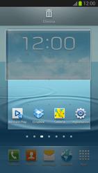 Samsung Galaxy S III - Operazioni iniziali - Installazione di widget e applicazioni nella schermata iniziale - Fase 6