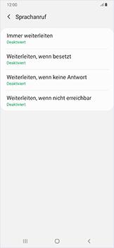 Samsung Galaxy A50 - Anrufe - Rufumleitungen setzen und löschen - Schritt 10