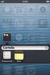 Apple iPhone 4S - Operazioni iniziali - Personalizzazione della schermata iniziale - Fase 6