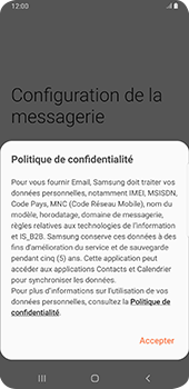 Samsung Galaxy S9 Plus - Android Pie - E-mail - 032c. Email wizard - Outlook - Étape 10