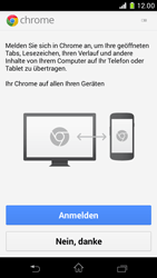 Sony Xperia Z1 Compact - Internet und Datenroaming - Verwenden des Internets - Schritt 5