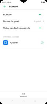 Oppo A9 2020 - Internet et connexion - Connexion avec un équipement multimédia via Bluetooth - Étape 9