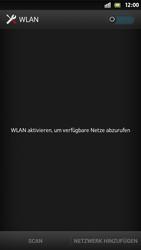 Sony Xperia S - WiFi - WiFi-Konfiguration - Schritt 5